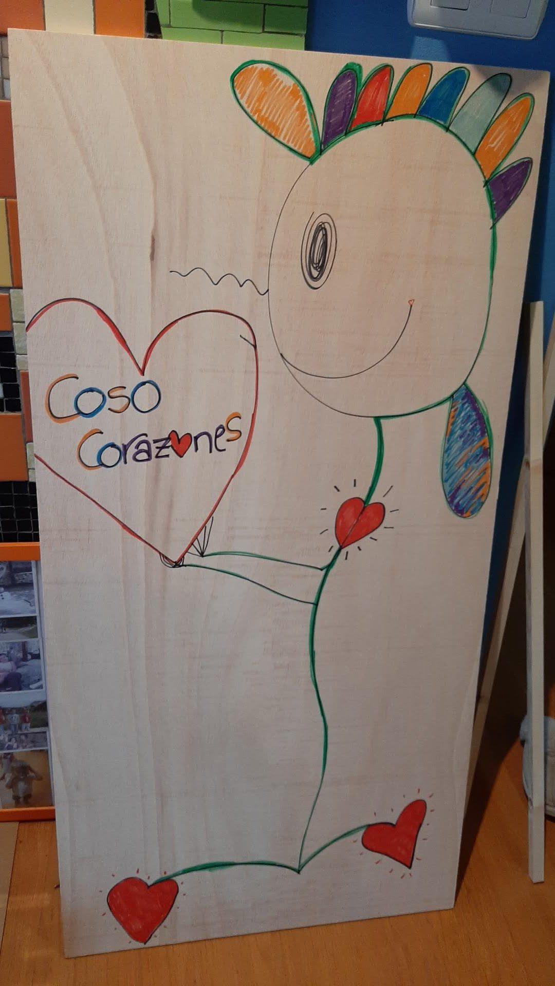 Tablero Coso Corazones